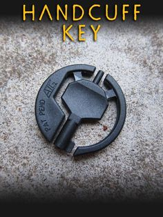 Ever get in a bind!!!! You might need this handcuff key from Wazoo Survival Gear!!!