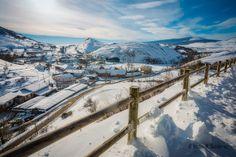 Argüeso in winter - Argueso, hemandad de Campoo de Suso, #Cantabria #Spain