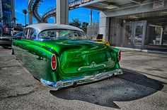 Candy Green '54 Chevy Custom | SEMA 2013 | Forged Photography
