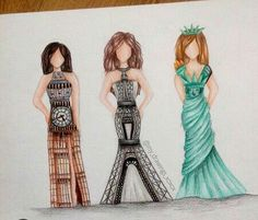 Monuments dress !!❤❤