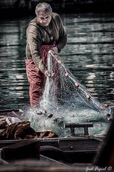 Fisherman in Jaffa Israel