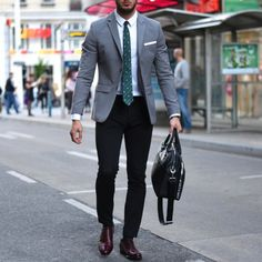 Sharp business look.