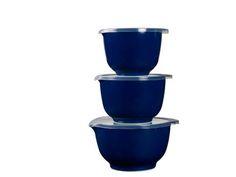 Rosti Mepal Margrethe Røreskålsæt 6 dele Indigo blue