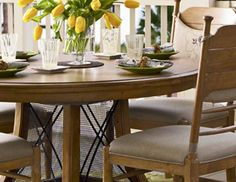 I pinned this from the Cozy Breakfast Nook - Furniture, Tabletop & Decor Essentials event at Joss & Main!