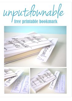 Free printable bookmark and LOTS Free Printable Bookmarks, Printable Planner Stickers, Printable Labels, Printable Quotes, Printable Paper, Free Printables, Ex Libris, School Displays, Book Markers