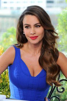 Sofia Vergara en las grabaciones de un comercial de Diet Pepsi