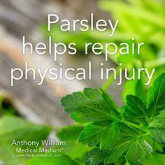 Natural Benefits of Parsley. Learn More: BasilHealth at www.basilhealth.com