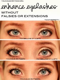 Enhance your eyelashes without falsies or extensions   Twist Me Pretty