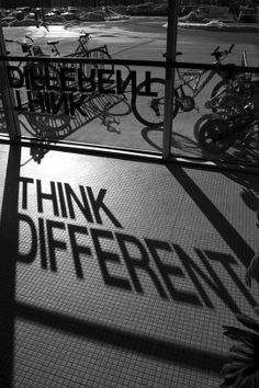 Think Different by Philip Stier. ° This is so awesome