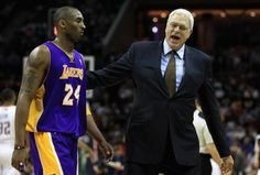 Kobe and Phil. Match made in heaven..