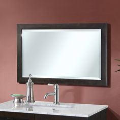 Canton Beveled Wall Mirror