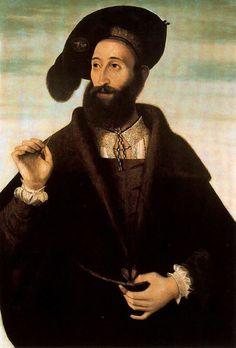 Portrait of a Man  Bartolomeo Veneto - circa 1525-1530