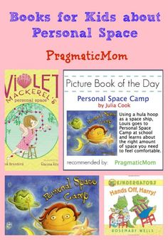 Teaching Kids About Personal Space Picture Book of the Day :: PragmaticMom