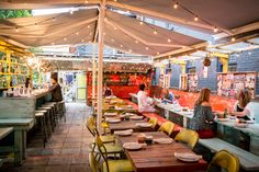 La Libre restaurant Toronto tacos!