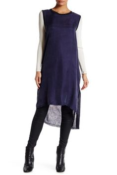 Image of Arrow & Sol Long Knitted Back Tunic