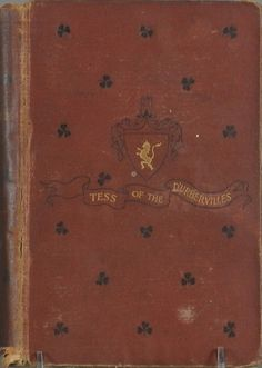 First Edition Tess of the d'Ubervilles