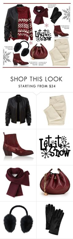 """""""Winter is coming!.."""" by vkevans ❤ liked on Polyvore featuring LE3NO, Barneys New York, Lacoste, Marc Jacobs, Steve Madden, Cejon and vkevans"""
