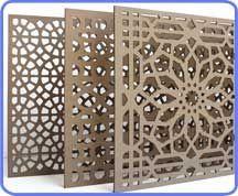 Decorative MDF Partition (Mashrabiya)  idea: dremmel?