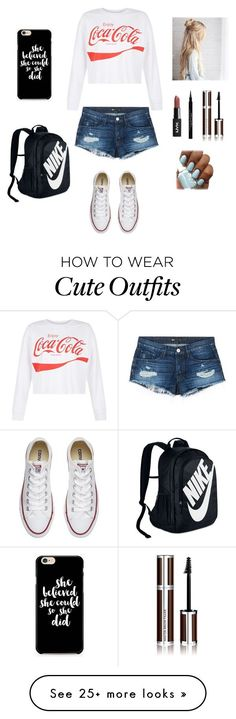 """Cute outfit"" by stuff4m on Polyvore featuring New Look, 3x1, Converse, NIKE and Givenchy"