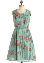 Knitted Dove La Vie en Rosebud Dress from Modcloth XS Pretty Outfits, Pretty Dresses, Cute Outfits, Vintage Dresses, Vintage Outfits, Vintage Fashion, How To Have Style, My Style, Dress Me Up