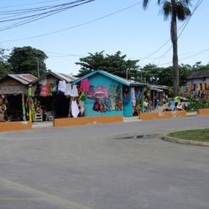Local marketplace we love in Negril