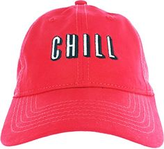 Dad Hat Cap - Netflix Chill Embroidered Adjustable Baseball Cap + Many Dad  Hat Variations b9cb752963a5