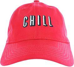 Dad Hat Cap - Netflix Chill Embroidered Adjustable Baseball Cap + Many Dad Hat Variations