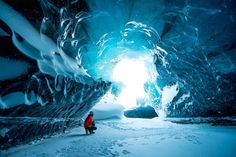Picture of the Day: Exploring Iceland's IceCaves
