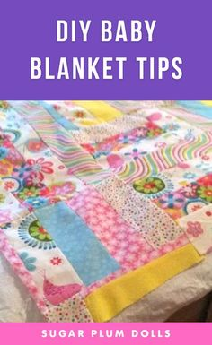 Learn how to make adorable Baby Blankets ! Ideas and Tips to make a quick and easy handmade baby blanket Part 1 of 2 videos. #babyblanket #craft #diy #craftideas #craftproject #diyproject #sewing #sewingproject #diysewing #handmade Easy Sewing Projects, Sewing Projects For Beginners, Projects For Kids, Craft Projects, Baby Sewing, Sew Baby, Handmade Baby Blankets, Diy Step By Step, Diy Arts And Crafts