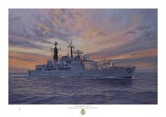 HMS Liverpool (D92). Builder: Cammell Laird. Laid down: 5 July 1978. Launched: 25 September 1980. Commissioned: 1 July 1982. Decommissioned: 30 March 2012. Status: awaiting disposal. Class & type: Type 42 destroyer. Displacement:4,820 tons. Length: 125 m (410 ft). Beam: 14.3 m (47 ft). Speed: 30 knots (56 km/h).