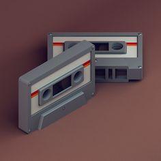 30 isometric renders 2 - Michiel van den Berg - studio for illustration & design Art Isométrique, Cg Art, Fruit Doodle, Polygon Art, Isometric Art, Image 3d, Low Poly 3d, Smart Art, Simple Illustration