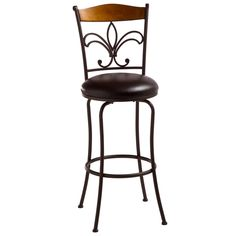 Colfax Metal/Wood Stool - Overstock™ Shopping - Great Deals on Hillsdale Bar Stools
