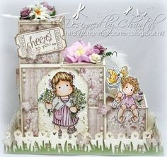 Cards made by Chantal: Cheers to you - block card