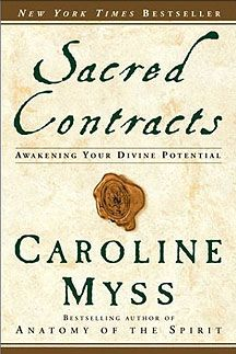 Sacred Contracts by Caroline Myss.  Very wordy but so insightful and enlightening.