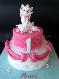 https://flic.kr/p/mJv5y4 | Marie Aristocat cake
