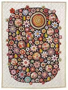 Quilt by Yazu Toshiko (Japan) seen at Pat Sloan's blog