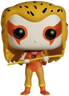 Funko POP Television: Thundercats Cheetara Action Figure  ThunderCats, Ho! Cursed with a strong sixth sense of oncoming evil, Cheetara is able to alert her fellow ThunderCats of any danger! Cheetara makes her way to the Pop! Vinyl line! Based on the classic ThunderCats animated series, Cheetara stands …  Read More  http://good-deals-today.com/product/funko-pop-television-thundercats-cheetara-action-figure/