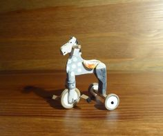 diy miniature antique style children's tricycle - sketch plus instructions (SP) step-by-step illustrations
