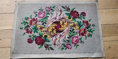 Antique Original Hand Painted Berlin woolwork Pattern L G