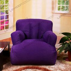 Latest Chairs For Living Room Product Purple Love, All Things Purple, Shades Of Purple, Deep Purple, Pink Purple, Purple Stuff, Purple Dining Chairs, Purple Furniture, Dream Furniture