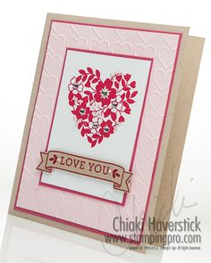 January 2016 Stamp-A-Stack #2: Bloomin' Love Valentine
