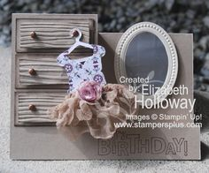 Step Card - Ballerina
