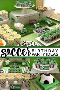 [Inspiration] Kick It! [Inspiration] Kick It!,Fußball Party 7 soccer birthday party ideas Related Super Bowl Snacks That Will Score Big Points On Game Day - XO, Katie Rosario - Superbowl food app. Soccer Birthday Parties, Birthday Party Themes, Soccer Party Favors, Birthday Boys, Birthday Banners, Birthday Ideas, Happy Birthday, Soccer Birthday Cakes, Soccer Cakes