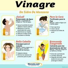 Usos del vinagre de Sidra de Manzana.