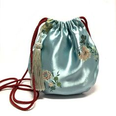 Your place to buy and sell all things handmade Japanese Bag, Potli Bags, Flower Bag, Diy Couture, Boho Girl, Boho Bags, Beaded Bags, Fabric Bags, Cute Bags
