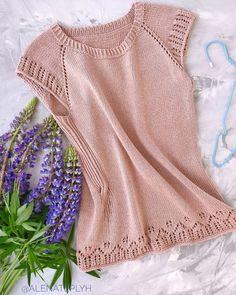 Crochet Jacket, Crochet Blouse, Knit Crochet, Summer Knitting, Lace Knitting, Blouse Models, Raglan, Jumpers For Women, Knitted Hats