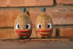 Vintage Florida Souvenir Salt and Pepper by TheKitschyCorner