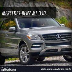 Mercedes-Benz ML 350 BlueTec virá ao Brasil  » www.salaodocarro.com.br/lancamentos/mercedes-benz-ml-350-bluetec.html