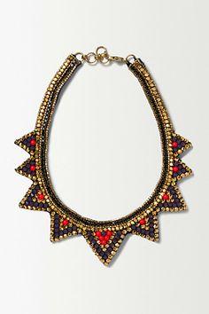 Buba Medina Bib Necklace #anthropologie