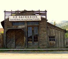 at the Blacksmith's